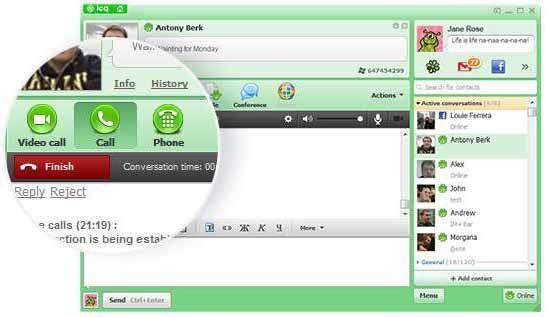 ICQ-screenshot-download