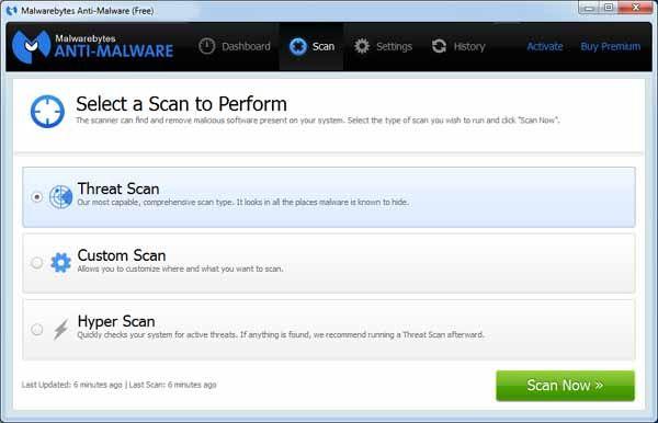 Malwarebytes-Anti-Malware-screenshot