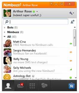Nimbuzz-chat-screenshot
