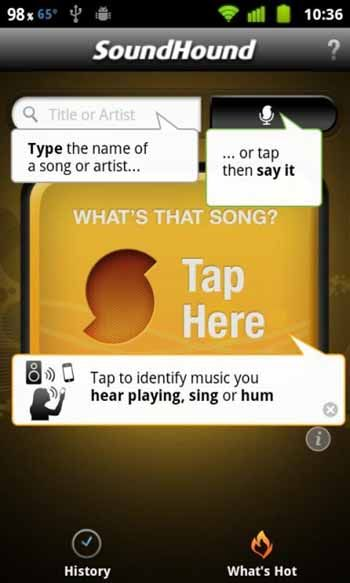 SoundHound-android-screenshot-Download