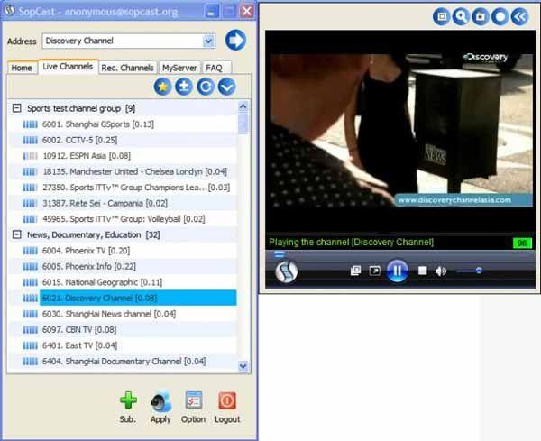 sopcast-screenshot
