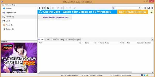 BitTorrent-screenshot