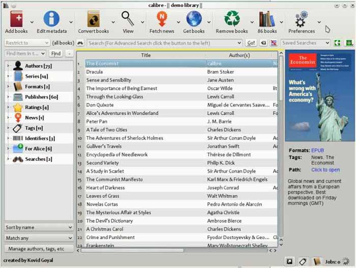Calibre-download-screenshot