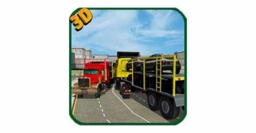 Car-Transporter-Truck-Driver-Android-logo