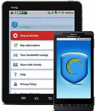 Hotspot-Shield-VPN-Proxy-wifi-for-Android-screenshot