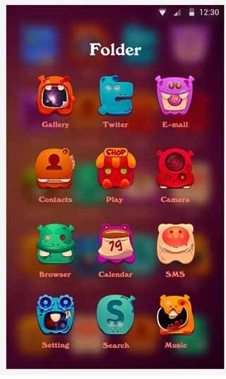 Little-Monster-Theme-Android-screenshot