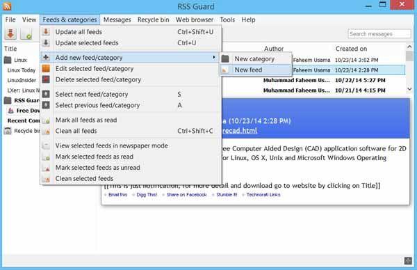 RSS-Guard-Screenshot-download