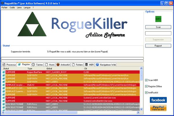 RogueKiller-Screenshot