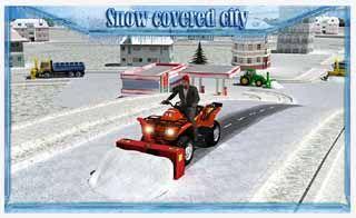 Snow-Blower-Truck-Sim-3D-Android-screenshot
