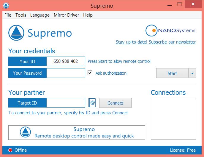 Supremo-screenshot-snap