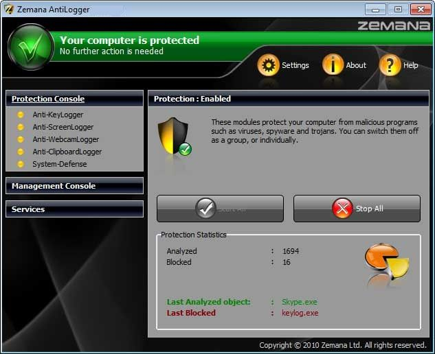 Zemana-antilogger-screenshot-download
