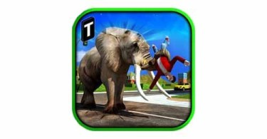 angry-elephant-attack-3d-Android-logo