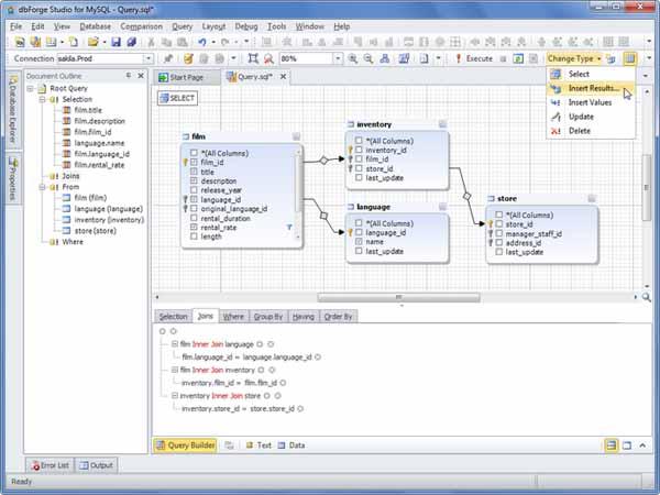 dbForge-Studio-for-MySQL-screenshot