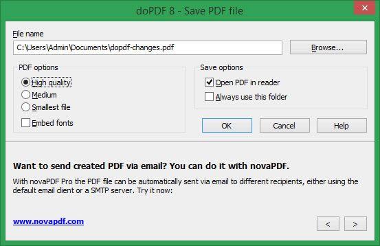 doPDF-screenshot