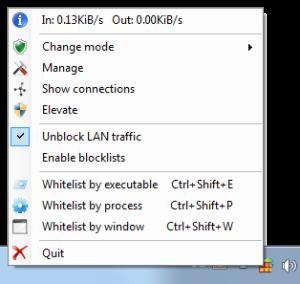tinywall-screenshot-menu