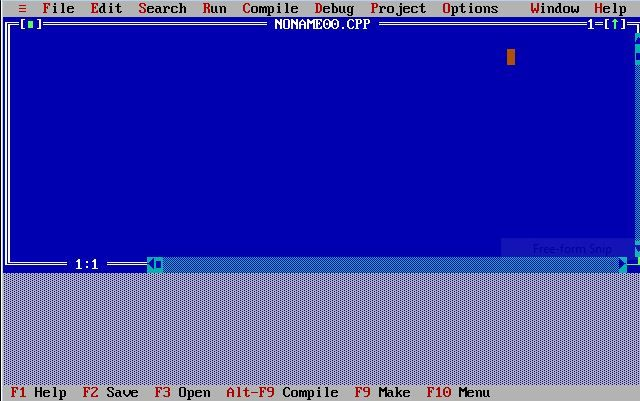 turbo-c++-screensot