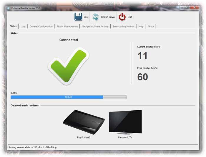 universal media server screenshot download