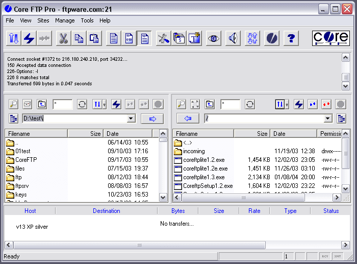 Core-FTP-Screenshot