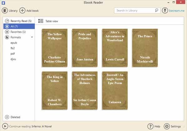 Icecream-ebook-reader-download