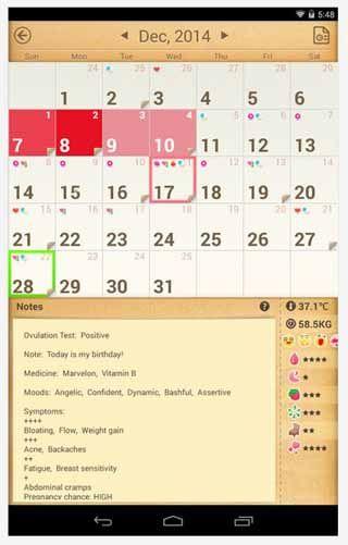 Period-Calendar-Tracker-Android-screenshot