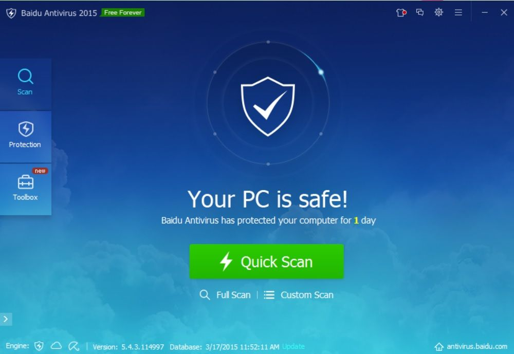 Baidu-Antivirus-latest-screenshot