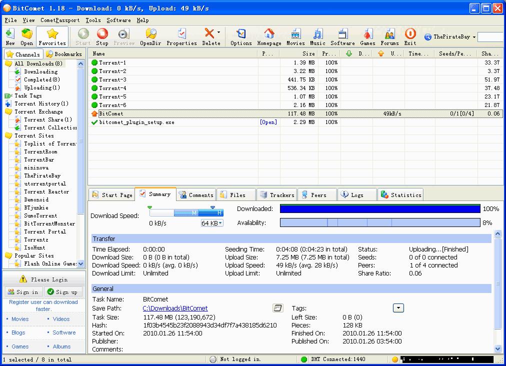 BitComet-Screenshot