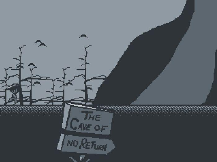 Cave of no return