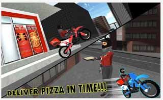 City-Pizza-Delivery-Guy-3D-Android-screenshot