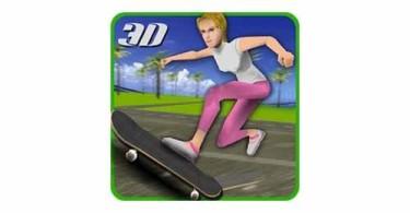 Crazy-skater-girl-skateboard-logo