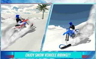 Winter-Snow-mobile-3D-Simulator-Android-screenshot