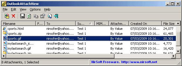 outlookattachview-screenshot