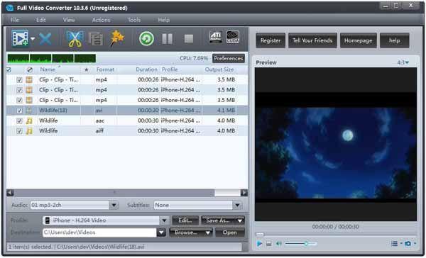 Full-Video-Converter-screenshot
