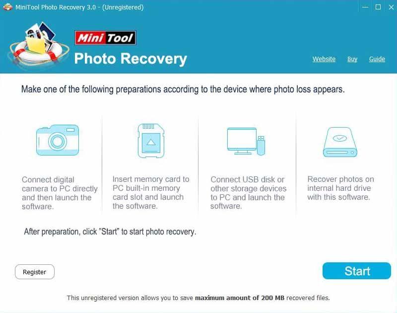 MiniTool-Photo-Recovery-Screenshot