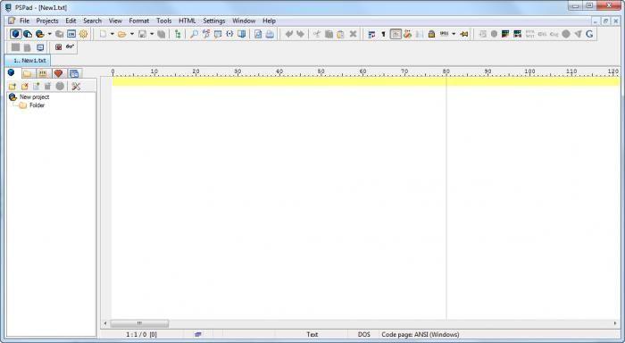 PSPad-screenshot