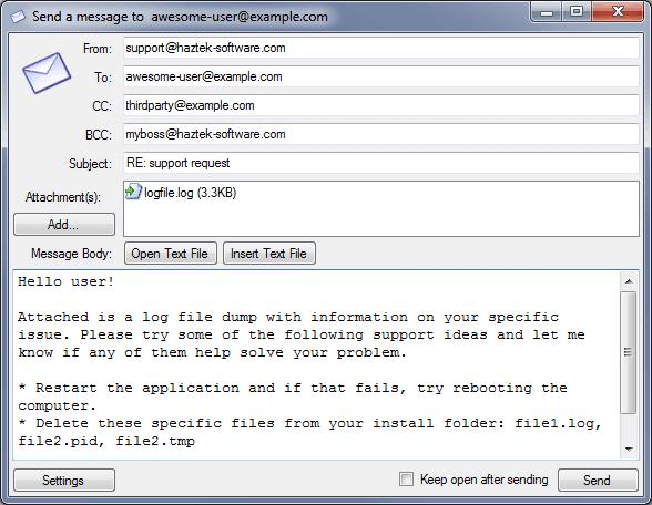 SMTP-Mail-Sender-screenshot