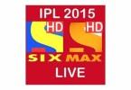 ipl-live-t20-2015-hd-max-six-logo