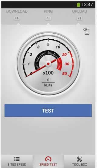 net-speed-test-master-Android-screenshot