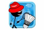 stickman-badminton-champion-logo