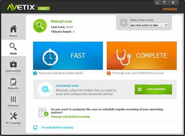 Avetix-Antivirus-screenshot