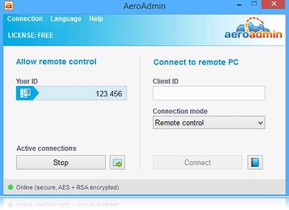 Aeroadmin-screenshot