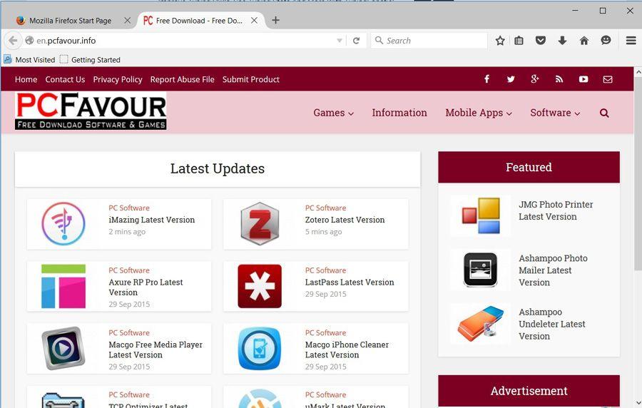 Mozilla Firefox screenshot download
