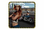 highway-bike-rider-3d-logo