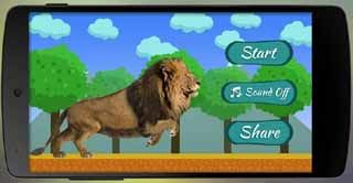jungle-lion-run-Android-screenshot