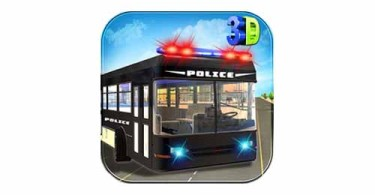 police-bus-cop-transport-logo