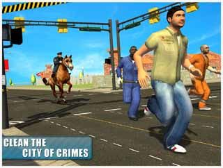 police-horse-crime-city-chase-Android-screenshot