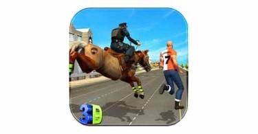 police-horse-crime-city-chase-logo