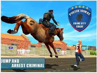 police-horse-crime-city-chase-screenshot