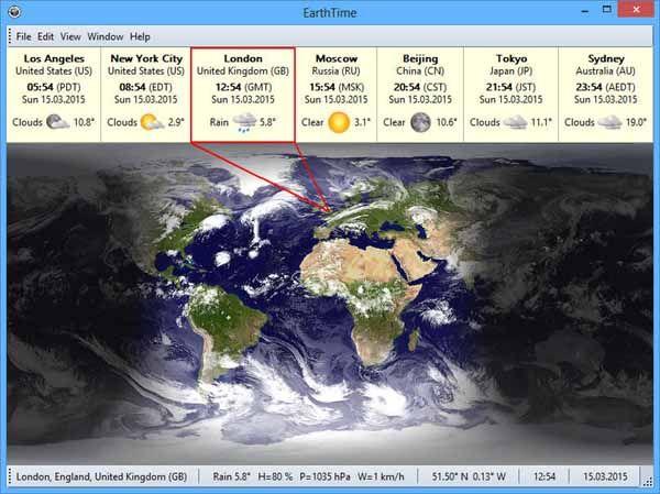 EarthTime-Screenshot
