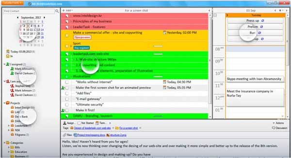 LeaderTask-screenshot