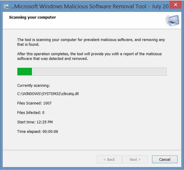 Microsoft-Malicious-Software-Removal-Tool-Screenshot